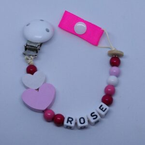 Rose Soother Clip
