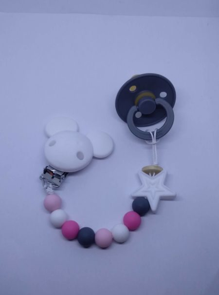 siliconeSootherClips_white andPink